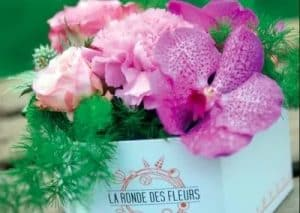 creation packaging fleuriste RENNES