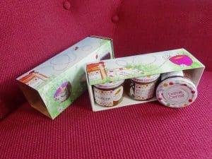agence de communication doublevé chateaubourg design graphique packaging Dame cerise