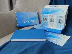 agence de communication doublevé chateaubourg design graphique packaging Solegal avocat à Paris