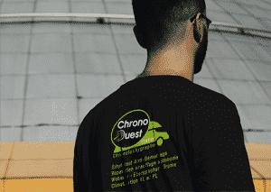 Agence de communication design graphique - Doublevé - Chateaubourg - t-shirt Chrono Ouest